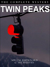 The unforgettable image of the stoplight swinging in the wind in Twin Peaks.