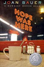YA novel - Hope Was Here