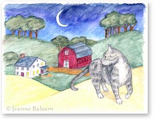 Simon's Secret Illustration by JeanneBalsam